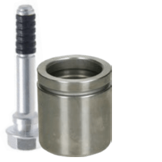 Piston and guide pins